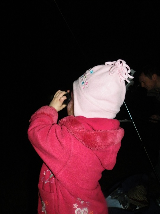 Toddler Star Gazing
